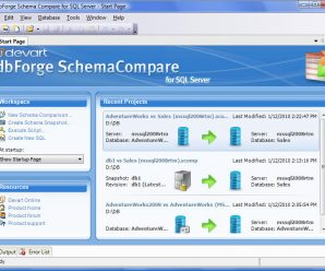 Devart dbForge Schema Compare for SQL Server v4.1.37 Professional + Patch