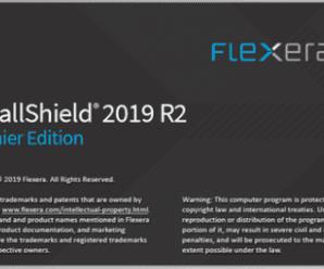 Flexera InstallShield 2019 R2 Premier Edition v25.0.0.676 + Crack