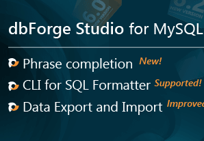 Devart dbForge Studio for MySQL Professional v6.3.358 + Crack