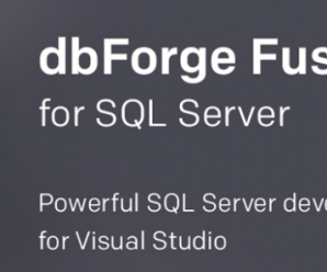 Devart Dbforge Fusion For SQL Server v1.11.10.2 + Crack