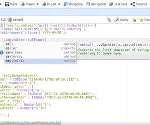 NoSQLBooster for MongoDB v5.2.9 + Crack