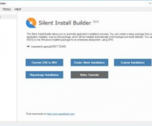 Silent Install Builder v6.0.7 +Crack