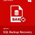 SysTools SQL Backup Recovery v7.0.0.0 + Crack