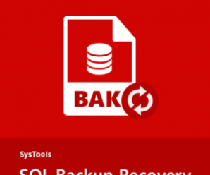 SysTools SQL Backup Recovery v7.0.0.0 + Crack