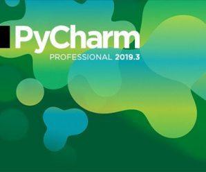 JetBrains PyCharm 2019.3.4 build 193.6911.25 Win & MacOS & Linux + Crack