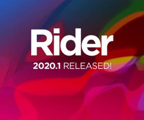 JetBrains Rider 2020.1 build 201.6668.197 Win & MacOS & Linux + License Key