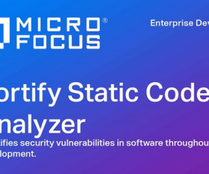 Micro Focus Fortify SCA (Static Code Analyzer) v19.1.0 for Win + License Key