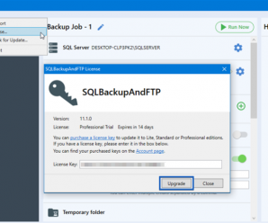 SQL Backup And FTP Professional v12.3.11 + Crack