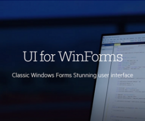 Telerik UI for WinForms 2020 R1 SP1 v2020.1.218 Retail