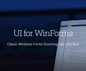 Telerik UI for WinForms 2020 R1 SP1 v2020.1.218 Retail