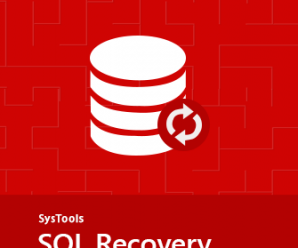 SysTools SQL Recovery v11.0 + Crack