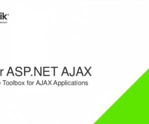 Telerik UI for ASP.NET AJAX 2020 R1 SP1 v2020.1.219 Retail