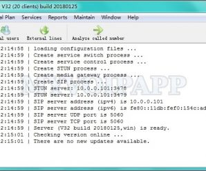 miniSIPServer v37 (build 20200424) 500 clients + Patcher