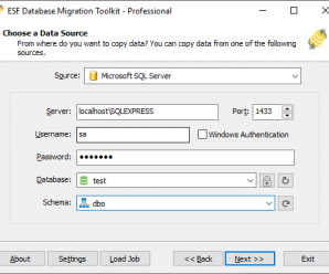 ESF Database Migration Toolkit Professional v10.1.19 + Crack