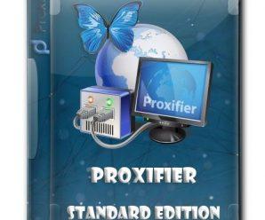 Proxifier Standard Edition 3.42 (x64 & x86) Keygen + Portable