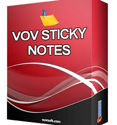 VovSoft Sticky Notes v6.3 Portable