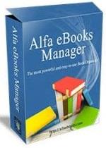 Alfa eBooks Manager Pro / Web v8.4.64.1 Multilingual + Crack