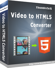 ThunderSoft Video to HTML5 Converter v3.2.0 Portable