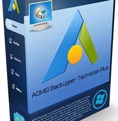 AOMEI Backupper Technician Plus v6.6.1 Portable